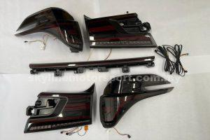 Toyota Vellfire 15-19 LED T/L Bar Line Black
