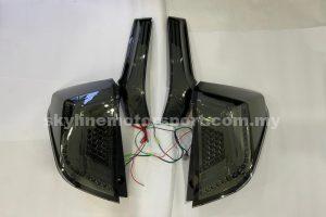 Honda Jazz GK 14-20 LED T/L Light Bar Smoke (WSRF)