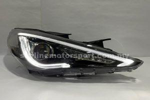 Hyundai Sonata 10-15 Projector H/L DRL LED Black (WSRF)