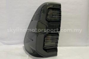 Toyota Hilux Revo Rocco 15-20 LED T/L Light Bar 2021 Style Smoke