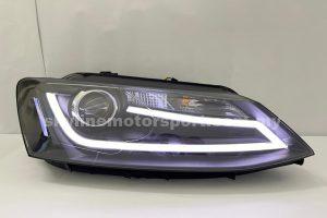 Volkswagen Jetta 12-15 Projector H/L DRL LED Black