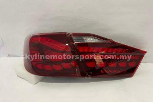 Toyota Camry 12-14 LED T/L Dragon Bar Dark Red (WSRF)