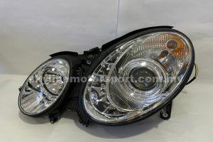Mercedes E-Class W211 02-05 Projector H/L DRL LED Chromed  (H7)(Sonar)