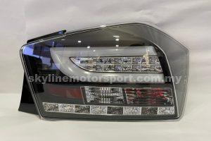 Honda City 12-13 LED T/L Light Bar JDM Black (Sonar)