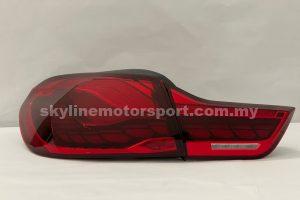 BMW 4Series 14-20 LED T/L Dragon Bar Dark Red (WSRF)